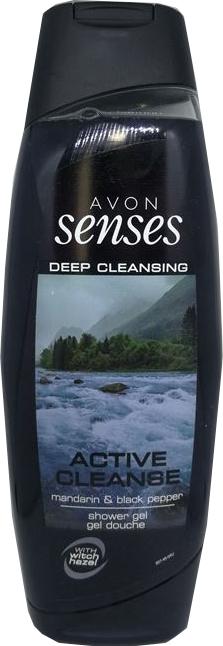 Gel de duș - Avon Senses Active Cleanse Shower Gel — Imagine N1
