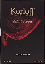 Parfumuri și produse cosmetice Korloff Paris Gala A L'Opera - Apă de parfum (tester)