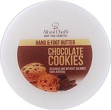 """Parfumuri și produse cosmetice Cremă pentru mâini și picioare """"Ciocolată"""" - Hristina Stani Chef's Chocolate Cookies Hand Foot Cream"""
