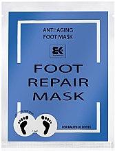 Parfumuri și produse cosmetice Mască hidratantă pentru picioare - Brazil Keratin Foot Rapair Mask