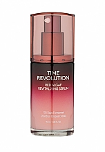 Parfumuri și produse cosmetice Ser cu extract de alge roșii pentru față - Missha Time Revolution Red Algae Revitalizing Serum
