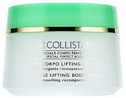 Parfumuri și produse cosmetice Cremă anti-îmbătrânire pentru fermitatea pielii corpului - Collistar Anti-Age Lifting Body Cream (tester)