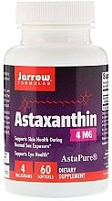 "Parfumuri și produse cosmetice Aditivi alimentari ""Astaxantina"" - Jarrow Formulas Astaxanthin 4mg"