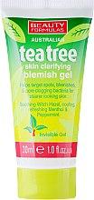 """Parfumuri și produse cosmetice Gel de duș """"Arbore de ceai"""" - Beauty Formulas Tea Tree Skin Clarifying Blemish Gel"""