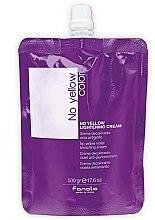 Parfumuri și produse cosmetice Cremă pentru păr - Fanola No Yellow Violet Bleaching Cream