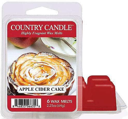 Ceară pentru lampă aromată - Country Candle Apple Cider Cake Wax Melts — Imagine N1