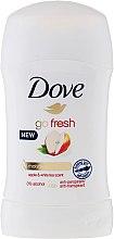 """Parfumuri și produse cosmetice Deodorant-Stick """"Măr și Ceai verde"""" - Dove Go Fresh Apple & White Tea Deodorant"""