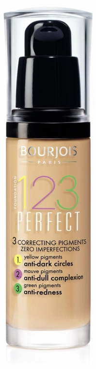 Fondul de ten lichid - Bourjois 123 Perfect — фото N2