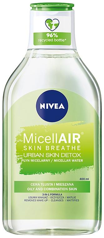 Apă micelară 3 în 1 - Nivea Urban Skin Detox Micellar Water