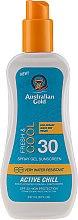 Parfumuri și produse cosmetice Spray cu protecție solară pentru corp - Australian Gold Sunscreen Spf 30 X-Treme Sport Spray Gel Active