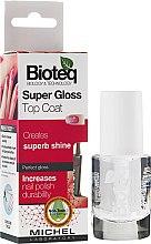 Parfumuri și produse cosmetice Fixator pentru unghii - Bioteq Super Gloss Top Coat
