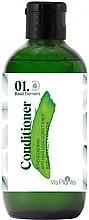 Parfumuri și produse cosmetice Balsam pentru întărirea firului de păr - _Element Basil Strengthening Anti-Hair Loss Conditioner (mini)