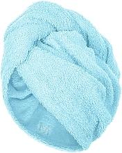 Parfumuri și produse cosmetice Prosop turban pentru uscarea părului, mentă - MakeUp