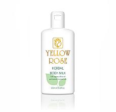 Parfumuri și produse cosmetice Lapte de corp - Yellow Rose Herbal Body Milk