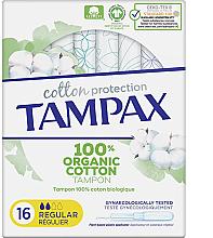Parfumuri și produse cosmetice Tampoane cu aplicator, 16 buc - Tampax Cotton Protection Regular