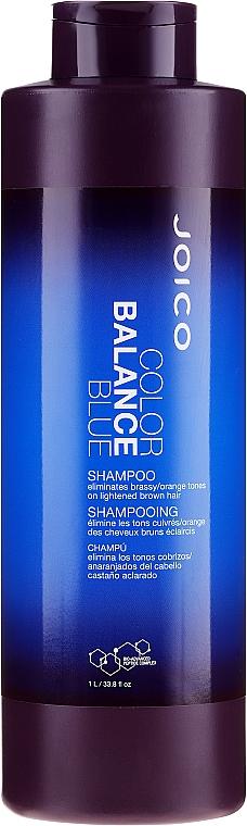 Șampon nuanțator pentru restabilirea echilibrului, albastru - Joico Color Balance Blue Shampoo — Imagine N1