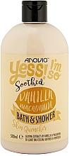 "Parfumuri și produse cosmetice Gel de duș ""Vanilie și Macadamia"" - Anovia Vanilla & Macadamia Bath & Shower"
