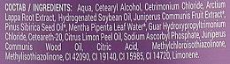 Balsam cu extract de ienupăr împotriva căderii părului - Reţete bunicii Agafia  — Imagine N3