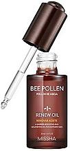Parfumuri și produse cosmetice Ulei de față - Missha Bee Pollen Renew Oil
