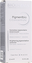 Parfumuri și produse cosmetice Ser facial - Bioderma Pigmentbio C Concentrate Brightening Pigmentation Corrector