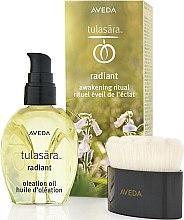 Parfumuri și produse cosmetice Set - Aveda Tulasara Morning Awakening Ritual Kit (f/oil/50ml + brush/1pc)