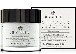 Parfumuri și produse cosmetice Cremă exfoliantă împotriva petelor și imperfecțiunilor - Avant Pro Salicylic Blue Minerals Clarifying Blemish & Imperfections Exfoliator