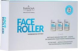 Parfumuri și produse cosmetice Concentrat anti-îmbătrânire - Farmona Professional Face Roller Active Anti-Ageing Concentrate