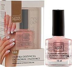 Parfumuri și produse cosmetice Ulei pentru unghii și cuticule - Czyste Piękno Nourising Cuticle & Nail Oil