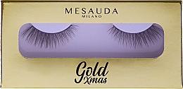 Parfumuri și produse cosmetice Gene false - Mesauda Milano Gold Xmas Instant Glam False Eyelashes 204 (tester)