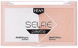 Parfumuri și produse cosmetice Paletă pentru fixarea machiajului - Hean Selfie Palette