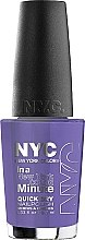 Parfumuri și produse cosmetice Lac de unghii - NYC In A New York Color Minute Quick Dry Nail Polish