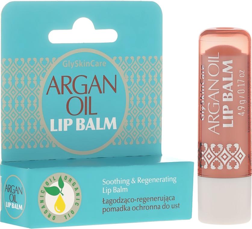 Balsam de buze cu ulei de argan - GlySkinCare Argan Oil Lip Balm