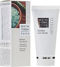 Scrub din bambus pentru față - Artdeco Skin Yoga Face Bamboo Face Scrub — Imagine N1