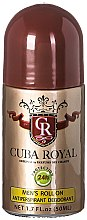 Parfumuri și produse cosmetice Cuba Royal - Deodorant roll-on
