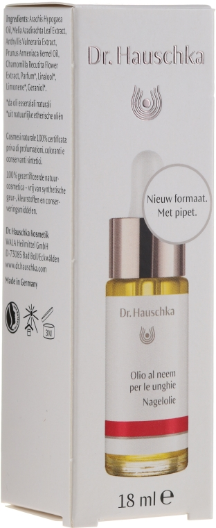 Set - Dr. Hauschka (h/cr30ml + nail/oil/18ml + buff/1pc) — Imagine N3