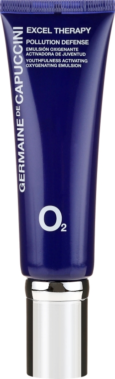 Emulsie saturată cu oxigen pentru față - Germaine de Capuccini Excel Therapy O2 Pollution Defense Emulsion — Imagine N2
