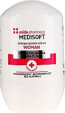 Parfumuri și produse cosmetice Antiperspirant - Anida Pharmacy Medisoft Woman Deo Roll-On
