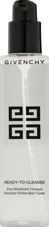 Tonic micelar pentru față - Givenchy Ready-To-Cleanse Micellar Water Skin Toner — Imagine N2