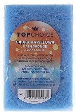 Parfumuri și produse cosmetice Burete pentru baie 30413, albastru - Top Choice