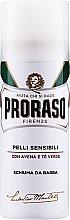 Parfumuri și produse cosmetice Spumă de ras pentru piele sensibilă - Proraso White Shaving Foam