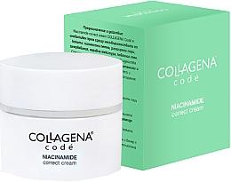 Parfumuri și produse cosmetice Cremă corectoare pentru petele de vârstă și imperfecțiunile pielii - Collagena Code Niacinamide Correct Cream