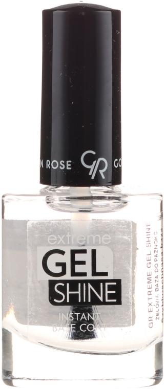 Bază pentru gel-lac - Golden Rose Extreme Gel Shine Instant Base Coat