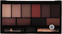 Parfumuri și produse cosmetice Paleta fard de ochi - MUA Elysium Eyeshadow Palette