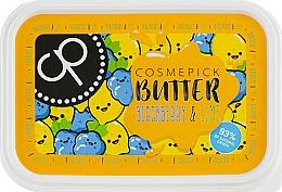 Parfumuri și produse cosmetice Unt cu aromă de mure și lime pentru corp - Cosmepick Body Butter Blackberry & Lime