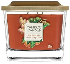 Lumânare aromată - Yankee Candle Elevation Sweet Orange Spice — Imagine N2