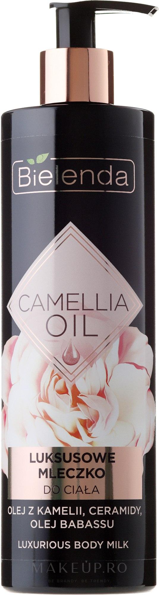 Lăptișor pentru corp - Bielenda Camellia Oil Luxurious Body Milk — Imagine 400 ml