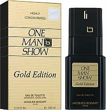 Bogart One Man Show Gold Edition - Apă de toaletă — Imagine N2