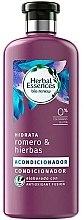 """Parfumuri și produse cosmetice Balsam de păr """"Rozmarin și Ierburi"""" - Herbal Essences Rosemary & Herbs Conditioner"""