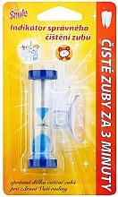 Parfumuri și produse cosmetice Cronometru pentru spălarea dinților, albastru - VitalCare White Pearl Smile Indicator Proper Toothbrushing