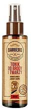 Parfumuri și produse cosmetice Toner pentru barbă și față - Barbero Beard and Face Tonic